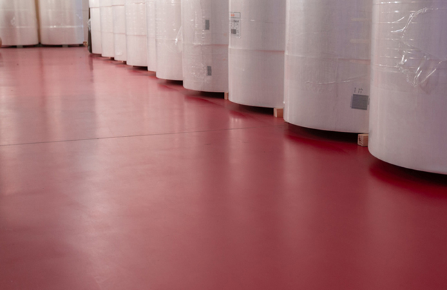 L'il Masters' New Factory Floor Combines Colour with Cleanliness