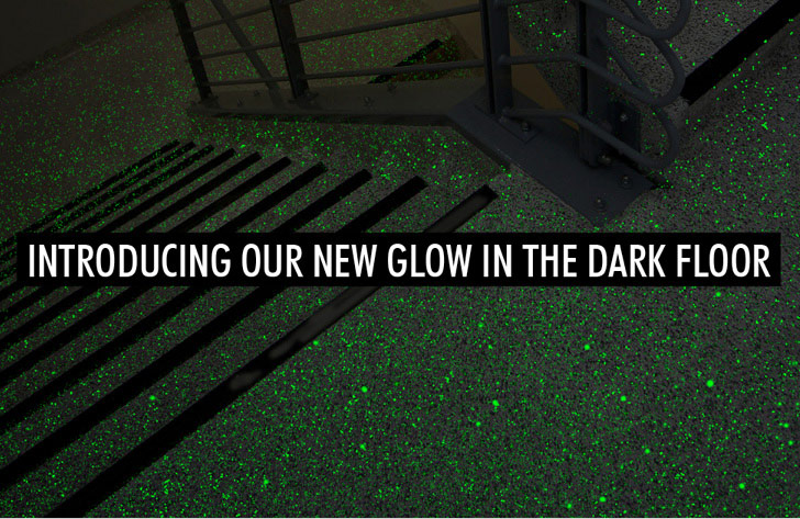 Introducing our new Glow-In-The-Dark Flooring