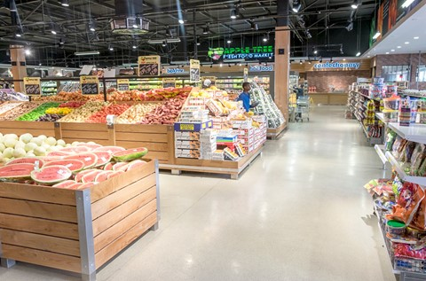 Flowcrete South Africa Supplies Supermarket with Specialist Surfaces