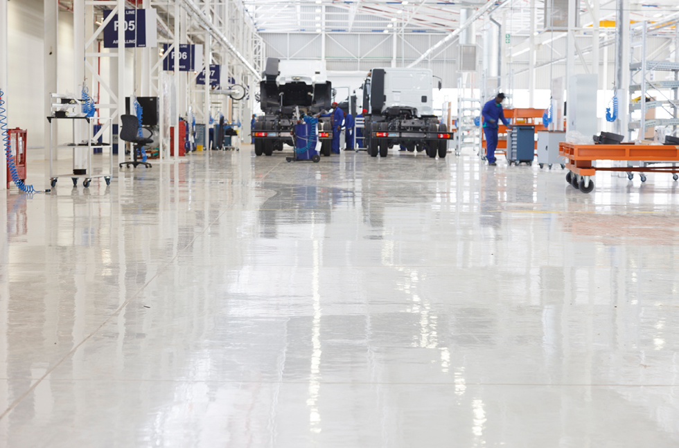 Flowcrete Undertakes South Africa S Largest Flooring Project