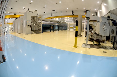 Flowcrete South Africa Wraps up Packaging Manufacturer's Floor