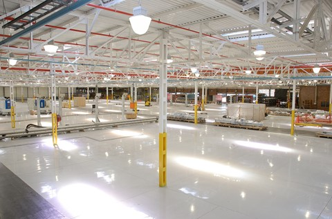 Flowcrete Provides a Solution for Ford Motors