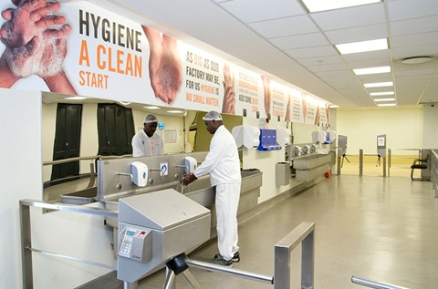 Hygiene Top of the Bill for Unilever's Green Site in SA