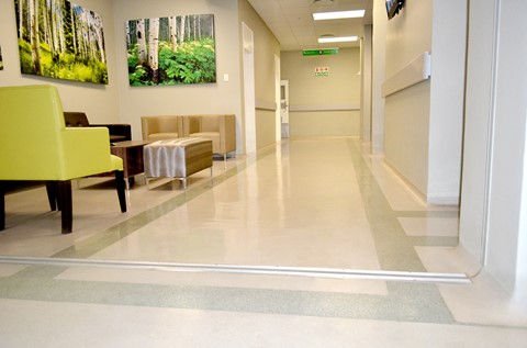 Flowcrete Lends A Helping Hand At Capital Blood Disorder Hospital