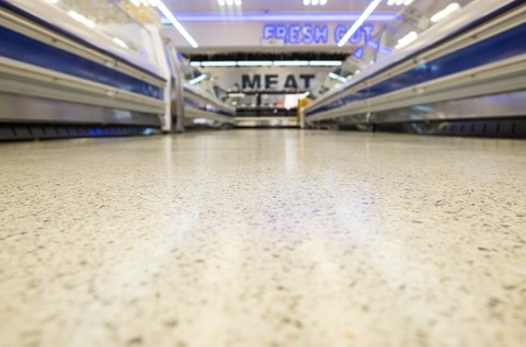 World Class Flooring Installed in Meat World