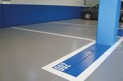 Deckshield Creates Stylish Finish For Corporate Car Park