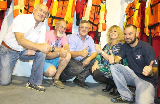 Flowcrete Donates Shipshape Floor for NSRI Rescue Station