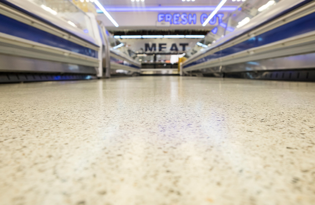 Resin Floors Refurbish Meadowdale Mall's Stores.