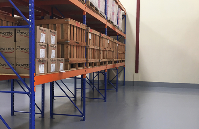 A new warehouse will enable Flowcrete East Africa to supply large-scale construction projects.