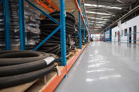 Flowcrete Excels in Eaton Industrial Floor Installation