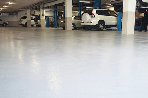 Toyota Favours Flowfresh for Workshop Flooring